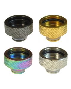 510 to 810 Drip Tip Adapter for eCig Vape Atomisers/Tanks Stainless Steel Available Colours