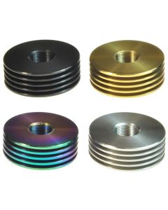Armerah 510 Thread eCig Heatsink Base V1 for 22mm RDA/Tank Stainless Steel Available Colours Top