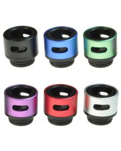 Armerah Aero 810 Drip Tip eCig Mouthpiece Short/Wide Aluminium/POM Thermoplastic Available Colours