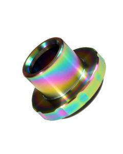 Armerah Drip Tip Mouthpiece Top Cap for Aspire Cleito 120 eCig Tank Steel Rainbow