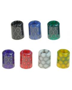 Armerah Drip Tip Mouthpiece for Lost Vape Orion Pod Narrow Cobra Epoxy Resin Available Colours