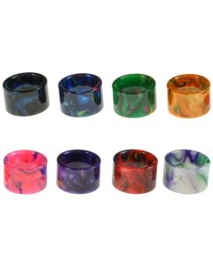 Armerah Drip Tip for Smok TFV16 & TFV-Mini V2 Short/X-Wide Marble Epoxy Resin Available Colours