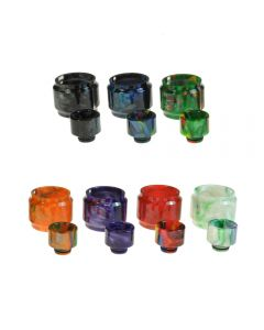 Armerah Replacement Resin Drip Tip Tube Kit for Smok TFV12 Baby Prince Tank Available Colours