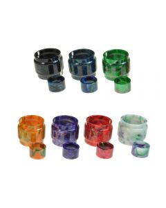 Armerah Replacement Resin Drip Tip Bulb/Tube Kit for Smok TFV16 King Tank Available Colours